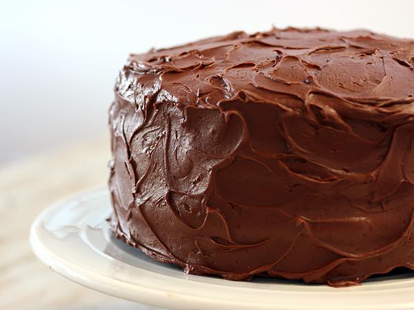 My arch nemesis: the chocolate cake